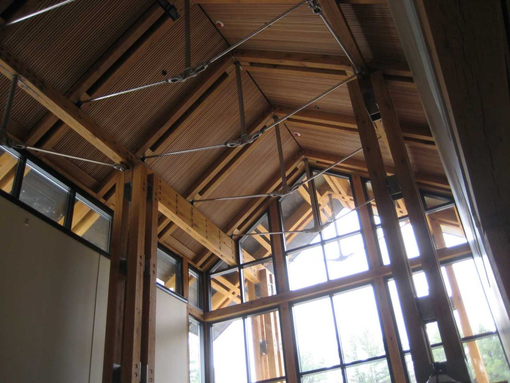 Sinnamahoning Park Visitor Center Interior Detail
