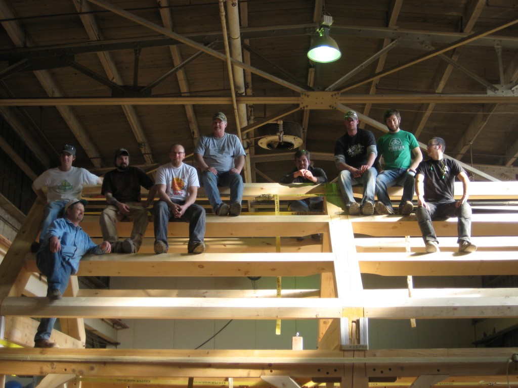 Northern Lights Timber Framing Intro Class
